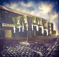 The Famous Five - Hibernian -Poster Print 20'' x 20'' approx